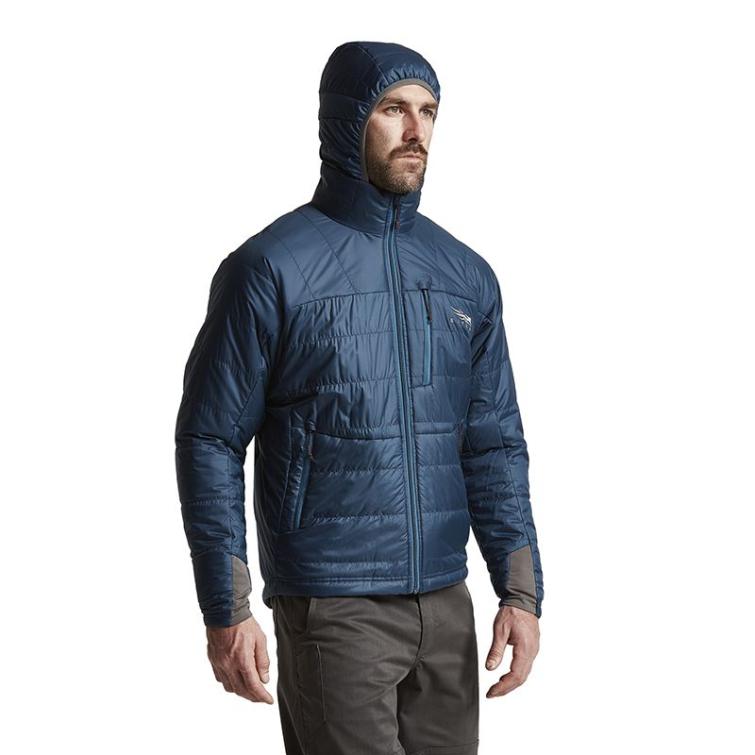 Куртка SITKA Kelvin AeroLite Jacket цвет Deep Water фото 7
