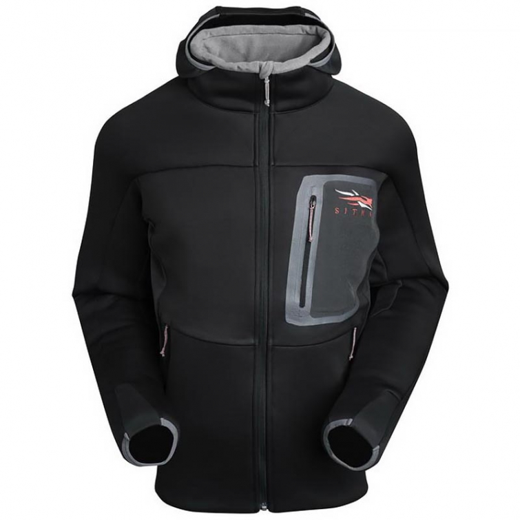 Толстовка SITKA Traverse C Weather Hoody цвет Black фото 1