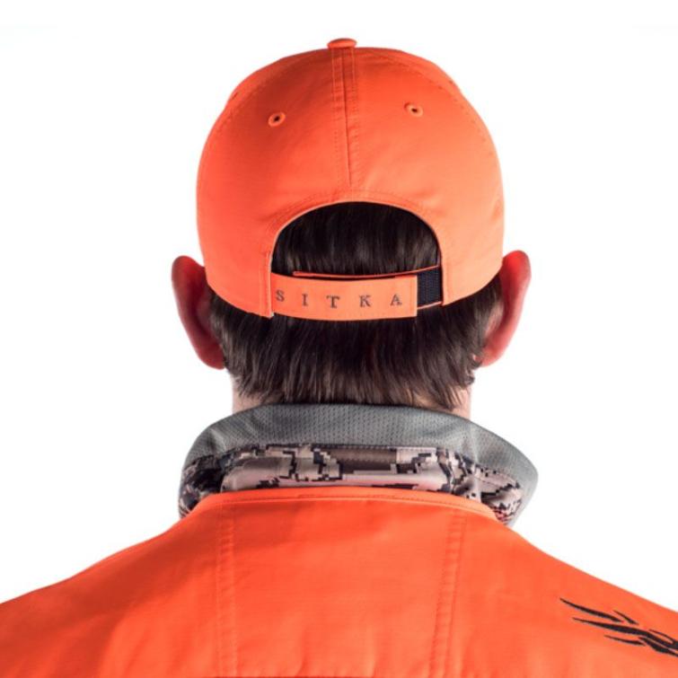 Бейсболка SITKA Ballistic Cap цвет Blaze Orange фото 2