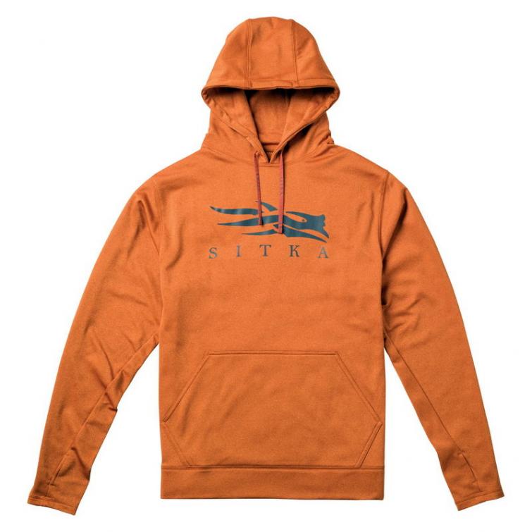 Толстовка SITKA Logo Hoody цвет Burnt Orange фото 1