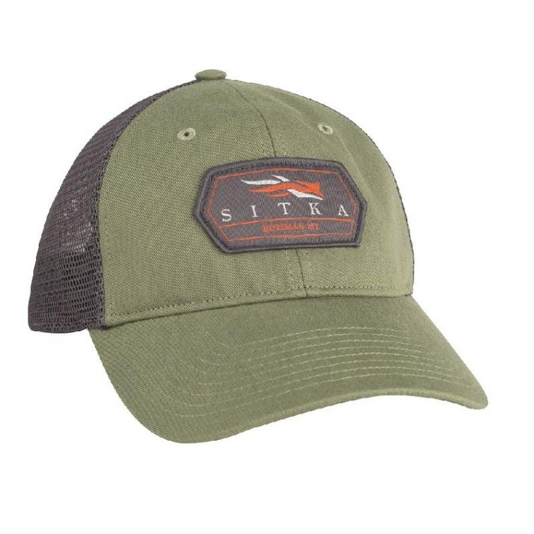 Бейсболка SITKA Meshback Trucker Cap цвет Forest фото 1
