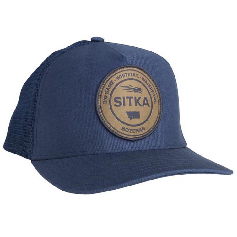 Бейсболка SITKA Seal Five Panel Patch Trucker цвет Navy фото 1
