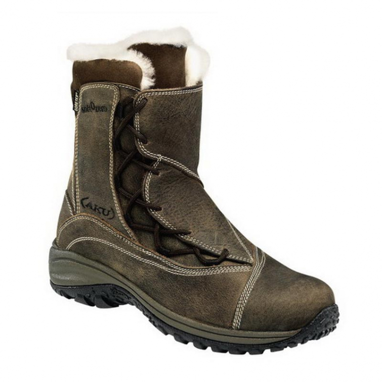 Ботинки зимние AKU Snow Crystal GTX WS цвет Brown фото 1