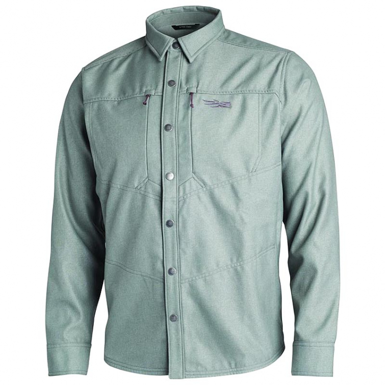 Рубашка SITKA Highland Overshirt цвет Granite фото 1