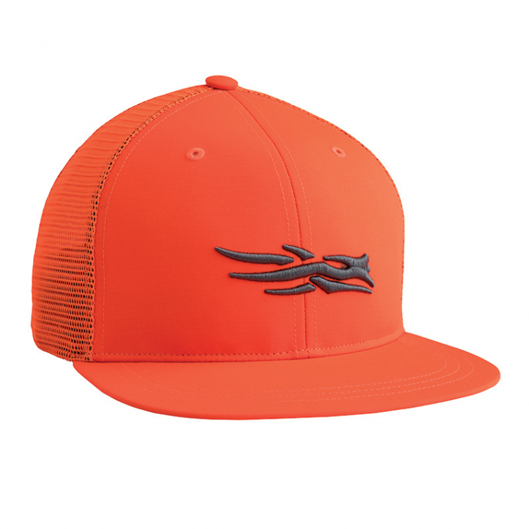Бейсболка SITKA Trucker Cap цвет Blaze Orange фото 1