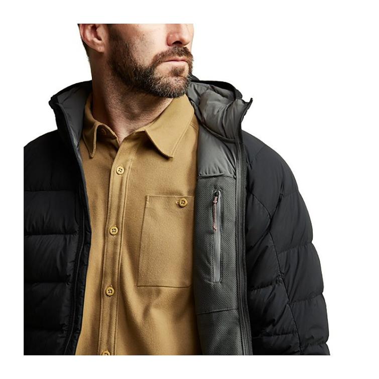 Куртка SITKA Kelvin Lite Down Jacket цвет Black фото 5