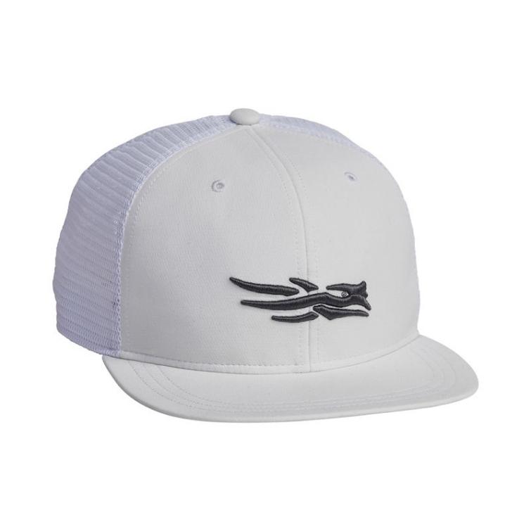 Бейсболка SITKA Trucker Cap цвет White фото 1