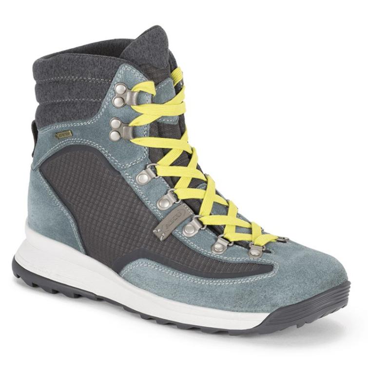 Ботинки треккинговые AKU WS Riva High GTX цвет Grey / Avio фото 1