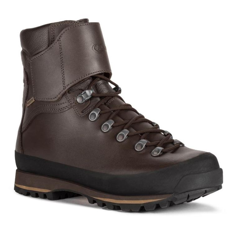 Ботинки охотничьи AKU Jager Evo Low GTX цвет Brown фото 1