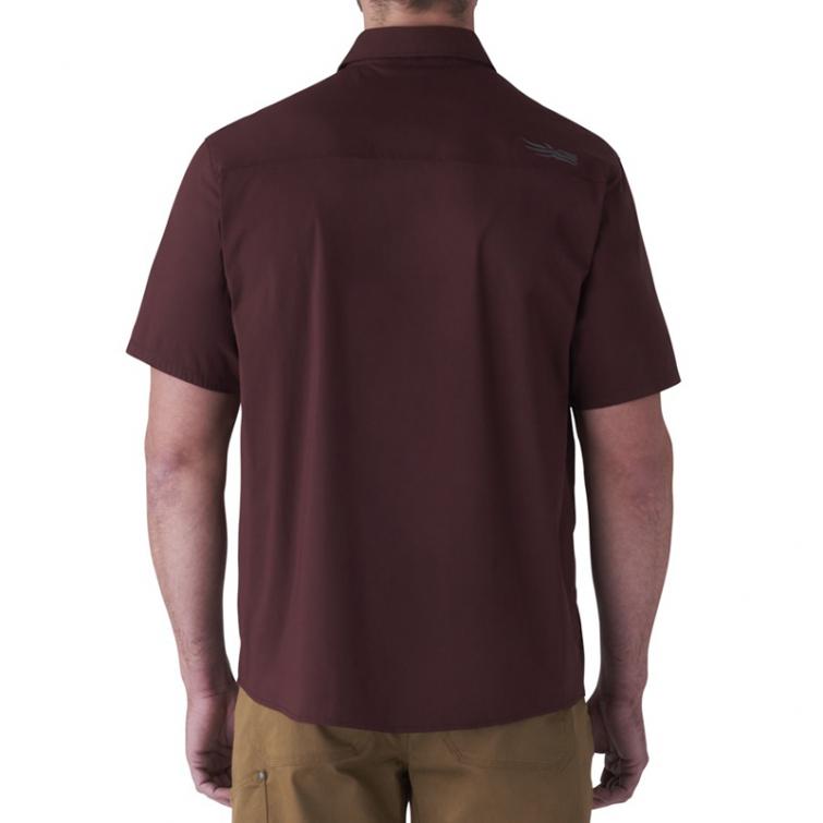 Рубашка SITKA Shop Shirt SS цвет Bitter Root фото 4