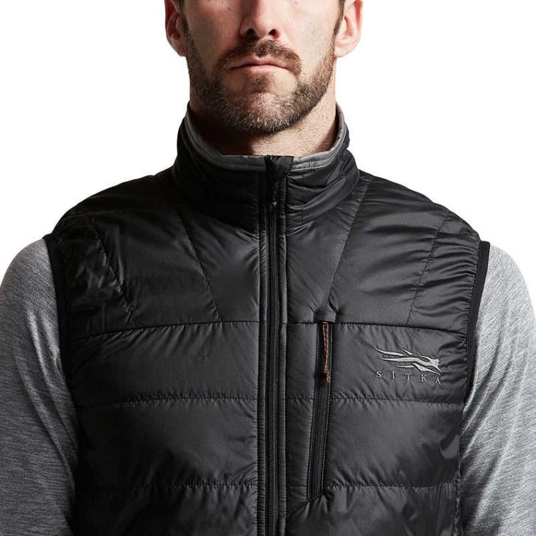 Жилет SITKA Kelvin AeroLite Vest цвет Black фото 4