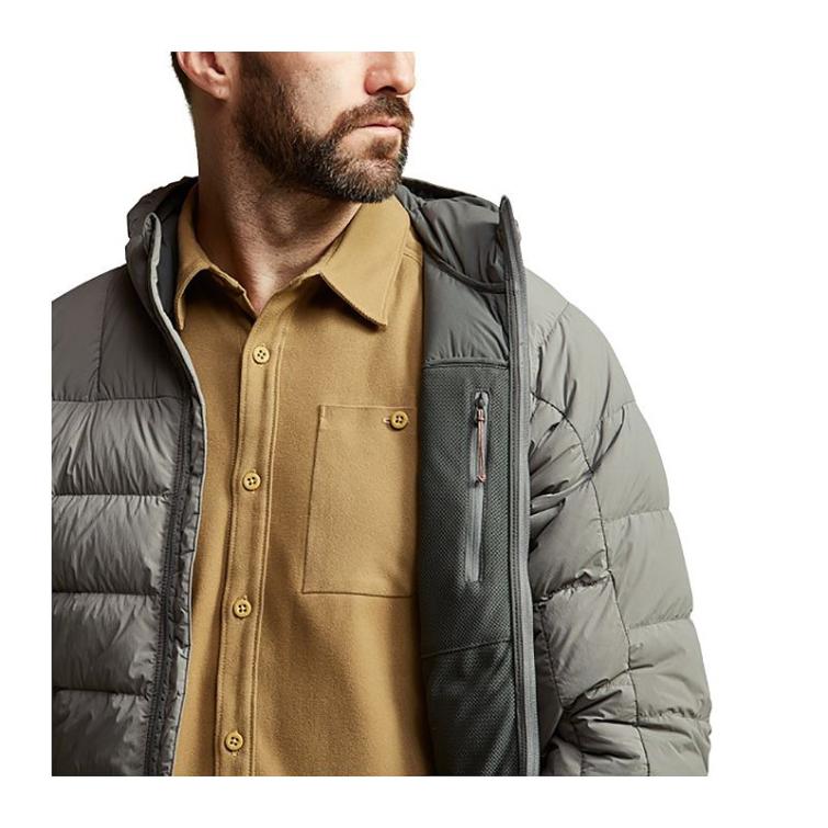 Куртка SITKA Kelvin Lite Down Jacket цвет Woodsmoke фото 6
