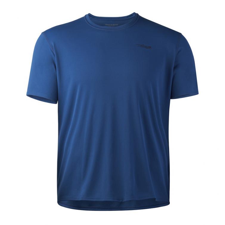 Футболка SITKA Basin Work Shirt SS цвет Admiral Blue фото 1