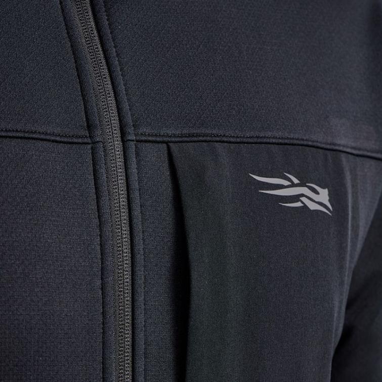 Джемпер SITKA Dry Creek Fleece Jacket цвет Black фото 3
