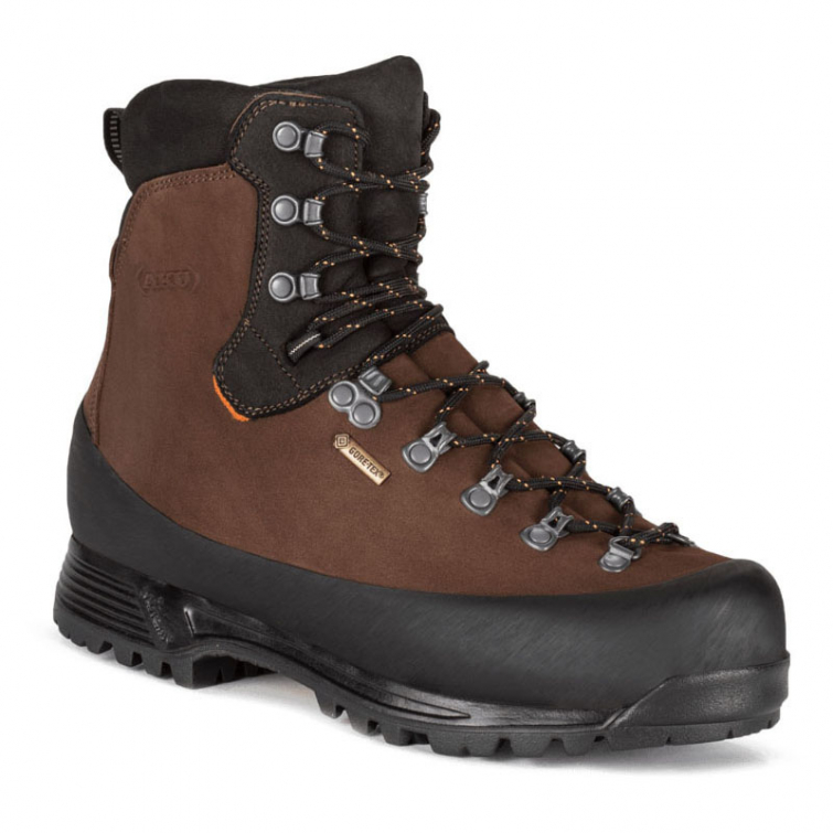 Ботинки горные AKU Utah Top GTX цвет Brown фото 1
