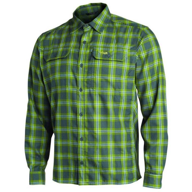 Рубашка SITKA Frontier Shirt цвет Lichen Plaid фото 1