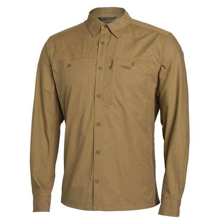 Рубашка SITKA Harvester Shirt цвет Clay фото 1