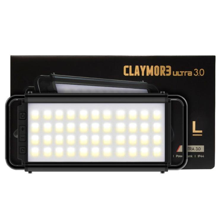 Фонарь кемпинговый CLAYMORE Ultra 3.0 L цв. Black фото 1