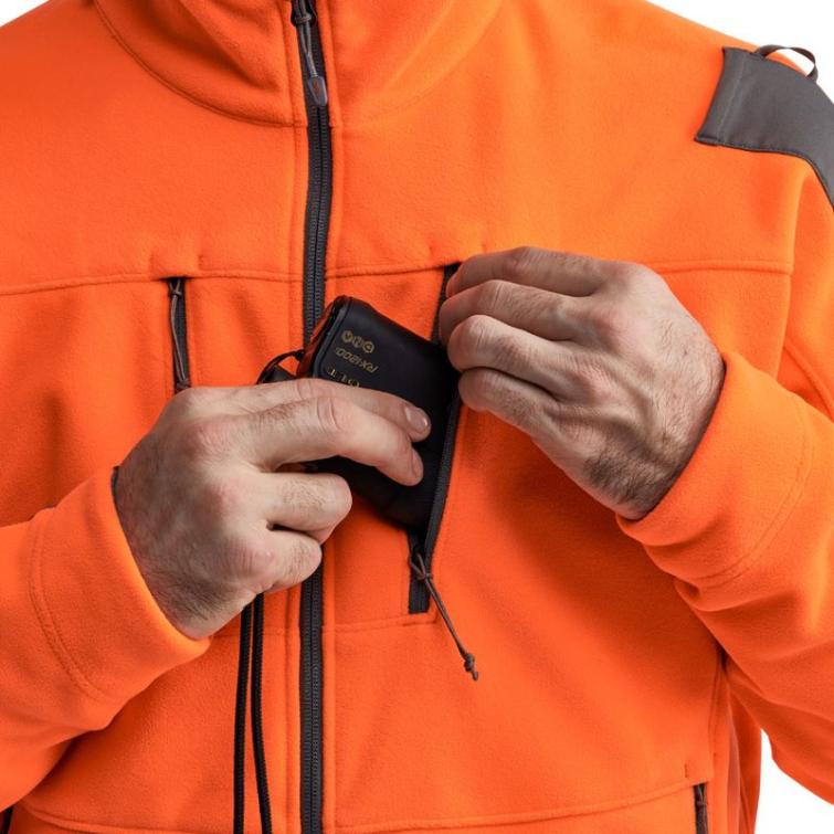 Куртка SITKA Stratus Jacket New цвет Blaze Orange фото 4