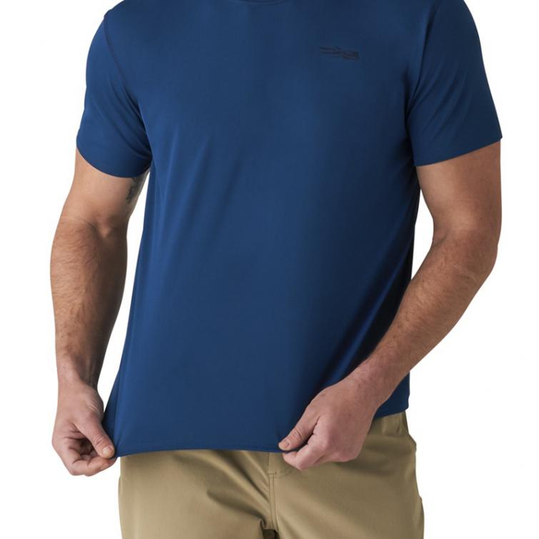 Футболка SITKA Basin Work Shirt SS цвет Admiral Blue фото 3