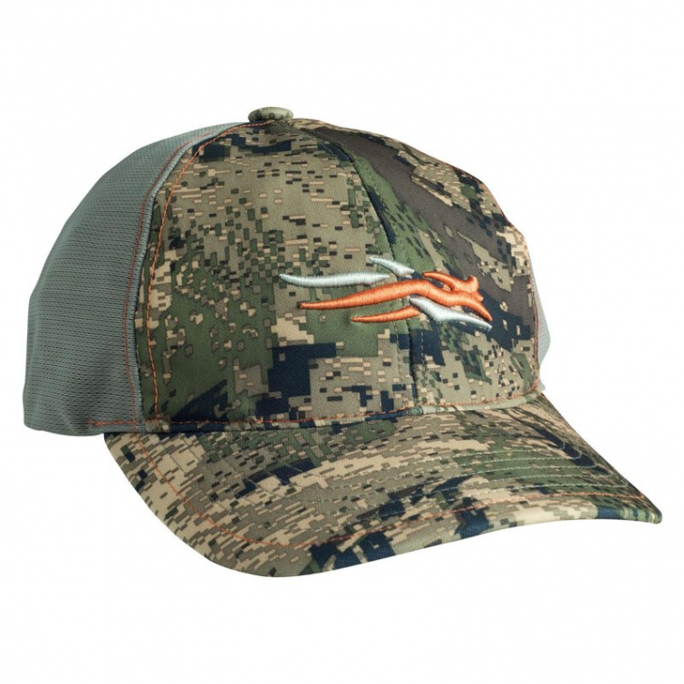 Бейсболка SITKA Stretch Fit Cap цвет Optifade Ground Forest фото 1