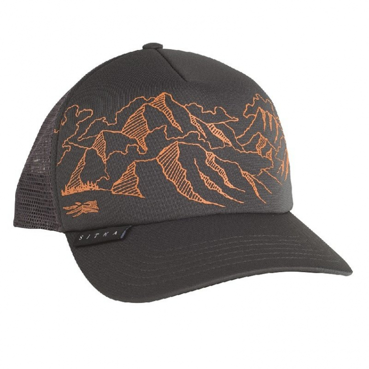 Бейсболка SITKA Mountain S F Trucker цвет Lead фото 1