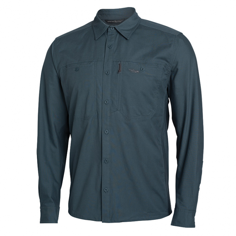 Рубашка SITKA Harvester Shirt цвет Storm фото 1