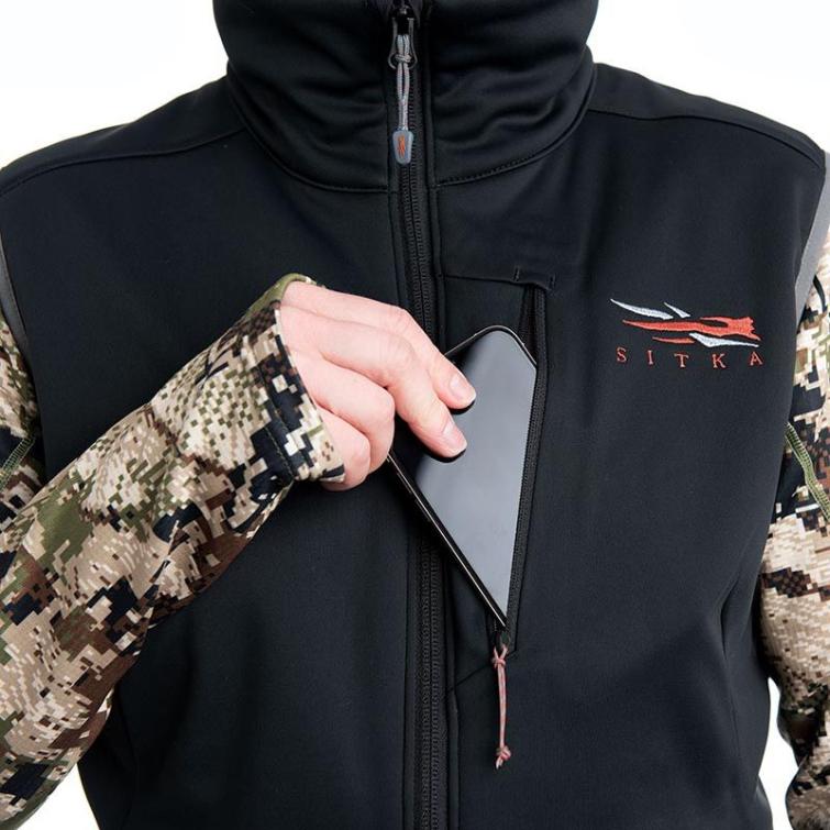 Жилет SITKA WS Jetstream Vest цвет Black фото 3