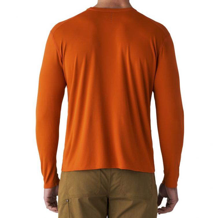 Футболка SITKA Basin Work Shirt LS цвет Burnt Orange фото 5