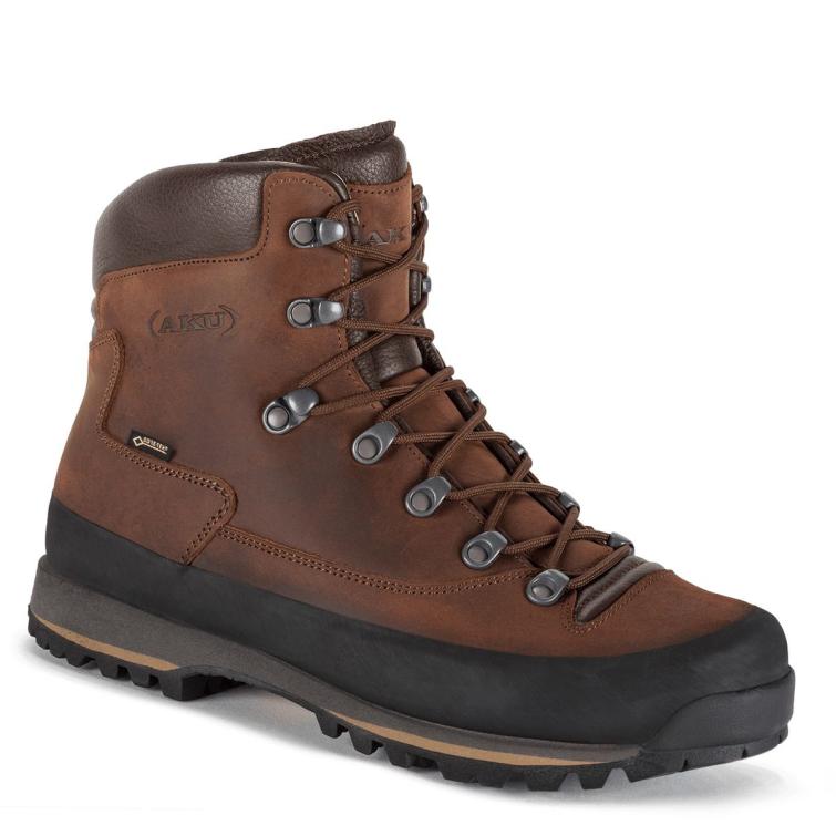 Ботинки горные AKU Conero GTX NBK цвет Brown / Dark Brown фото 1