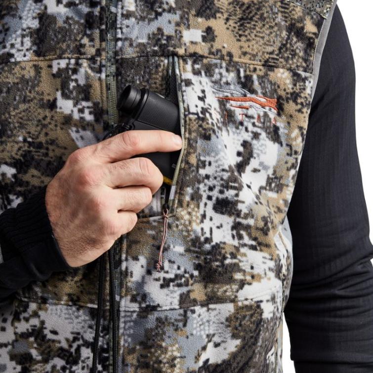 Жилет SITKA Stratus Vest New цвет Optifade Elevated II фото 2