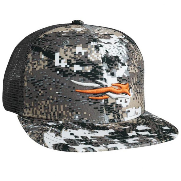Бейсболка SITKA Trucker Cap цвет Optifade Elevated II фото 1