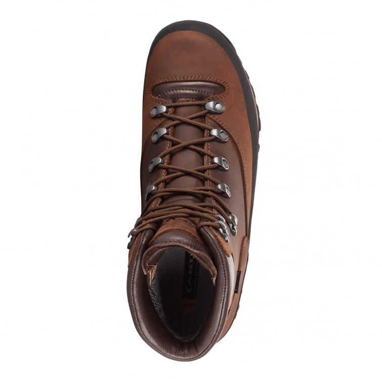 Ботинки горные AKU Conero GTX NBK цвет Brown / Dark Brown фото 2