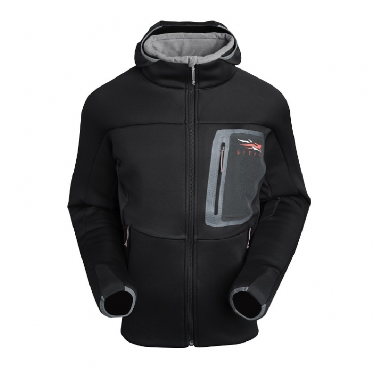 Толстовка SITKA Traverse C Weather Hoody цвет Black фото 2