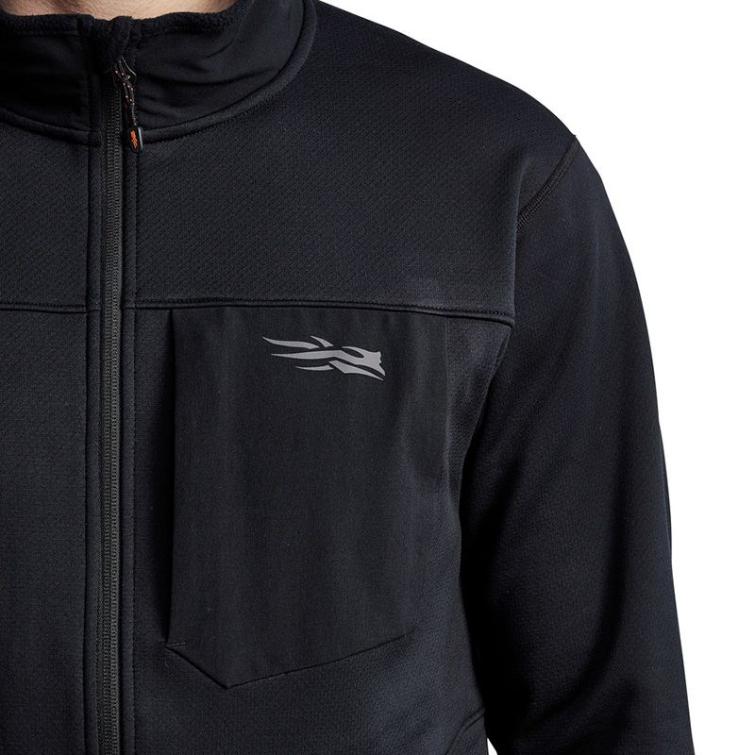 Джемпер SITKA Dry Creek Fleece Jacket цвет Black фото 8
