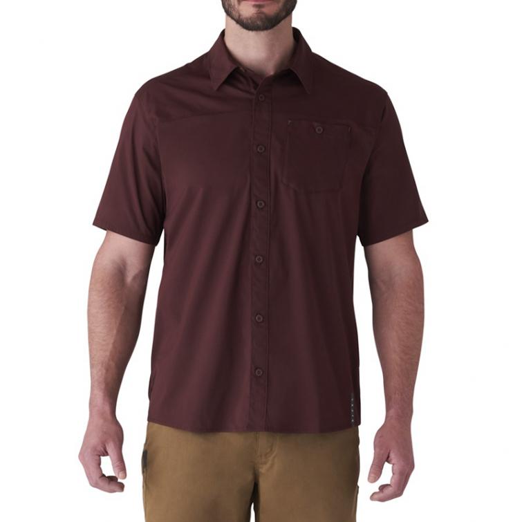 Рубашка SITKA Shop Shirt SS цвет Bitter Root фото 5