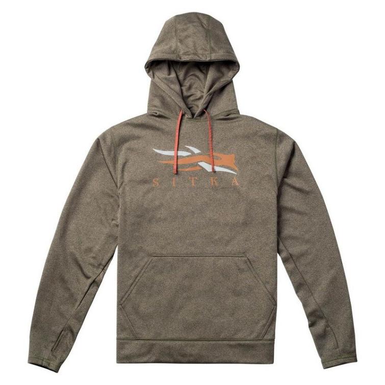 Толстовка SITKA Logo Hoody цвет Pyrite фото 1
