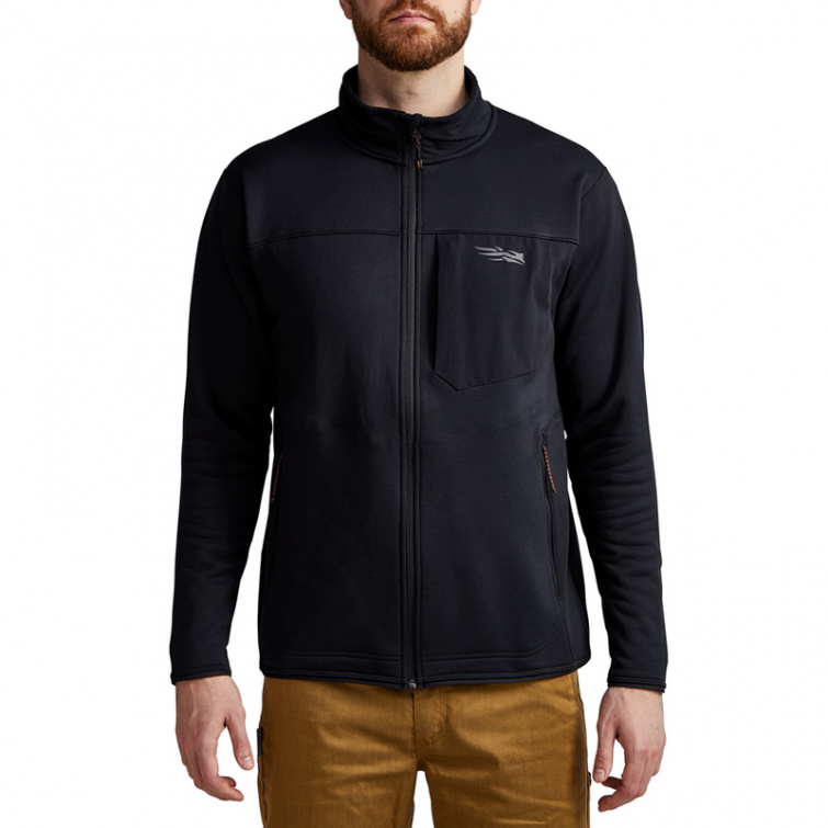 Джемпер SITKA Dry Creek Fleece Jacket цвет Black фото 7