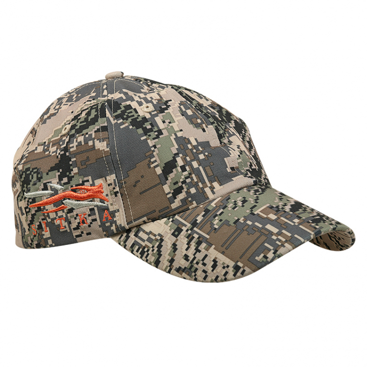 Бейсболка SITKA Cap W/Side Logo цвет Optifade Open Country