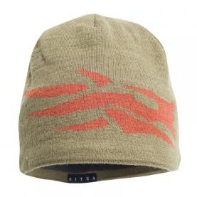 Шапка SITKA Lg Logo Beanie цвет Moss