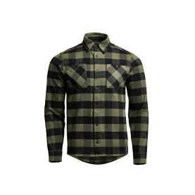 Рубашка SITKA Riser Work Shirt цвет Covert / Black / Plaid