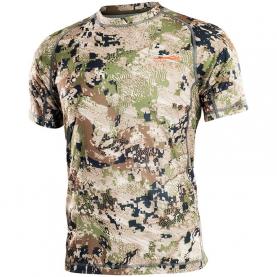Футболка SITKA Core Lt Wt Crew Ss цвет Optifade Subalpine