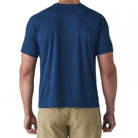 Футболка SITKA Basin Work Shirt SS цвет Admiral Blue превью 5
