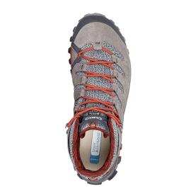 Ботинки треккинговые AKU Alterra Lite Mid GTX цвет Grey / Red превью 3