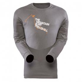 Футболка SITKA Treadmill Ls Shirt цвет Charcoal