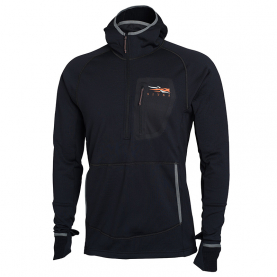 Толстовка SITKA Fanatic Hoody New цвет Black