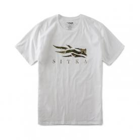 Футболка SITKA Core Tee SS цвет White / Subalpine