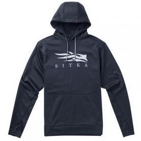 Толстовка SITKA Logo Hoody цвет Black