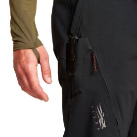 Брюки SITKA Grinder Pant New цвет Black превью 4