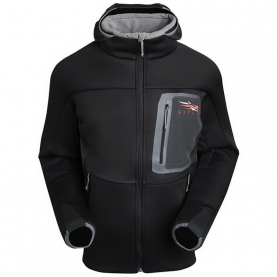 Толстовка SITKA Traverse C Weather Hoody цвет Black превью 1